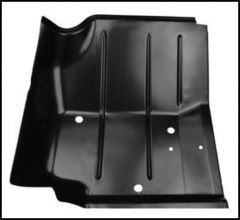 KeyParts Replacement Steel Floor Pan (Front Passenger's-Side Under Feet) For 1976-95 Jeep CJ-7 and Jeep Wrangler YJ Models 0480-226R