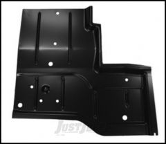 KeyParts Replacement Steel Floor Pan (Front Driver's-Side Under Seat) For 1976-95 Jeep CJ-7 and Jeep Wrangler YJ Models 0480-227L