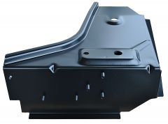 KeyParts Driver Side Front Floor Toe Board Support For 1976-1995 Jeep CJ7 & Wrangler YJ 0480-229