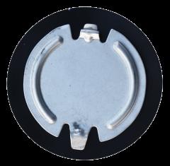 "KeyParts 3"" Floor Pan Plug for 84-01 Jeep Cherokee XJ & Wagoneer, 93-95 Wrangler YJ 0482-710"