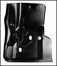 KeyParts Replacement Steel Floor Pan (Front Passenger's-Side Under Feet) For 1997-06 Jeep Wrangler TJ & TLJ Unlimited Models 0485-220