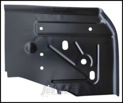 KeyParts Replacement Steel Floor Pan (Rear Driver's-Side Under Seat) For 1997-06 Jeep Wrangler TJ & TLJ Unlimited Models 0485-221