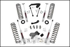 """Rough Country 4"""" Suspension Lift System With Performance N3.0 Series Shocks For 2007-18 Jeep Wrangler JK 2 Door 68230"""