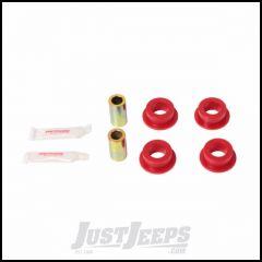 Rugged Ridge Red Rear Track Bar Bushing Kit Polyurethane For 2007-18 Jeep Wrangler JK 2 Door & Unlimited 4 Door Models 1-1210