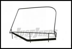 Rampage Window Frame Only Pair (For Soft Upper Half Doors) For 1997-06 Jeep Wrangler TJ 89799
