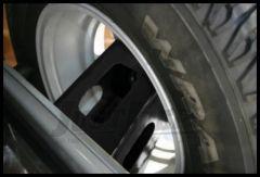 "Rampage Spare Tire Mount Extender (Up To a 35"" Tire) For 2007-18 Jeep Wrangler JK 2 Door & Unlimited 4 Door Models 86610"
