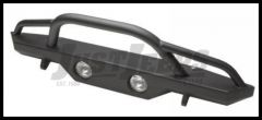 Rampage Front Recovery Bumper With Stinger For 1976-06 Jeep CJ Series, Wrangler YJ & TJ (lights sold separately) 76510