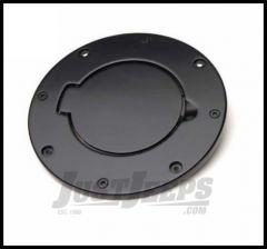 Rampage Billet Style Gas Cover Black Off Road Coat For 2007-18 Jeep Wrangler JK 2 Door & Unlimited 4 Door 75007