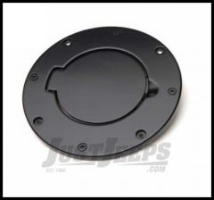 Rampage Billet Style Gas Cover Black Off Road Coat For 1997-06 Jeep Wrangler TJ 75006