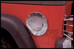 Rampage Billet Style Gas Cover For 2007-18 Jeep Wrangler JK 2 Door & Unlimited 4 Door Models 75001