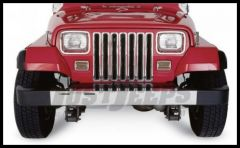 Rampage Grille Inserts Chrome For 1987-95 Jeep Wrangler YJ 7509