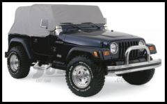 Rampage 4 Layer Cab Cover in Grey For 1992-06 Jeep Wrangler YJ & TJ 1261