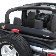 Rightline Gear (Black) Soft Top Window Storage Bag For 2007-18 Jeep Wrangler JK 2 Door & Unlimited 4 Door Models 100J78-B