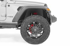 Rough Country Front & Rear Inner Fender Liner Set For 2018+ Jeep Wrangler JL 2 Door & Unlimited 4 Door Models 10499