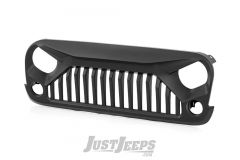 Rough Country Gladiator Angry Eyes Replacement Grille For 2007-18 Jeep Wrangler JK 2 Door & Unlimited 4 Door Models 10524