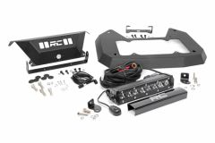 Rough Country Spare Tire Delete Kit Chrome Series for 18+ Jeep Wrangler JL, JLU 10607
