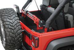Quadratec Sport Cage Hi-Lift Jack Mount for 07-10 Jeep Wrangler JK 92200.9100