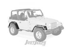 """Bushwacker Eurostyle 6"""" Pocket Flares For 1997-06 Jeep Wrangler TJ Models"""