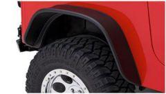 Bushwacker Flat Style YJ Wrangler Rear Fender Flare For 1987-95 Jeep Wrangler YJ Models