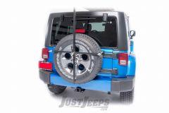 Lange Originals Rear Frame Tire Carrier Rack For Jeep Wrangler YJ/TJ/LJ/JK 2 Door & Unlimited 4 Door Models 110-315