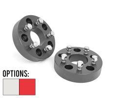 Rough Country 5x5 To 5x4½ Aluminum Wheel Adapters (Pair) For 2007-18 Jeep Wrangler JK 2 Door & Unlimited 4 Door Models 1100-