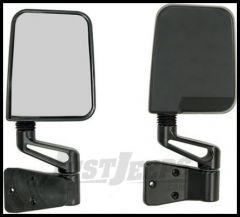 Rugged Ridge Replacement Mirrors Black 1987-02 Wrangler YJ TJ 11002.03