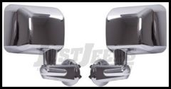 Rugged Ridge Mirror Kit (Chrome) For 2007-18 Jeep Wrangler JK 2 Door & Unlimited 4 Door Models 11010.11