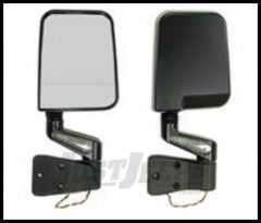 Rugged Ridge LED Mirror Kit Black With dual focal point For 1988-02 Wrangler with Half or Full doors 11015.02