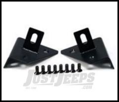 Rugged Ridge Auxiliary Windshield Light Mount Kit For 1976-95 Jeep Wrangler YJ and CJ 11027.01