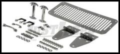 Rugged Ridge Complete Hood Kit in Stainless 76-95 Jeep YJ and CJ Series 11101.01