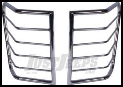 Rugged Ridge Stainless Steel Rear Euro Tail Light Guards 2005-08 Grand Cherokee WK 11103.21