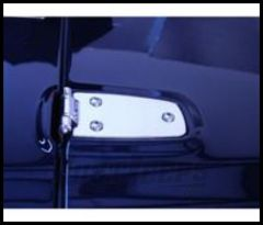 Rugged Ridge Hood Hinges Stainless steel For 1997-06 TJ Wrangler, Rubicon and Unlimited 11111.02