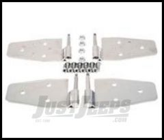 Rugged Ridge Door Hinge Set Stainless Steel For 1987-06 Wrangler YJ/TJ 11113.02