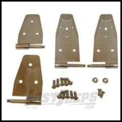 Rugged Ridge Door Hinges Stainless For 1994-95 Wrangler 11113.03