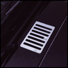 Rugged Ridge Hood Vent in Stainless Steel 1998-06 TJ Wrangler series 11117.04