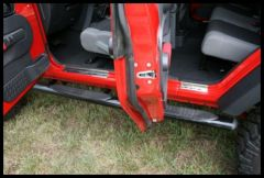 Rugged Ridge Entry Guard Set in Stainless Steel 2007-10 JK Wrangler Unlimited 11119.05