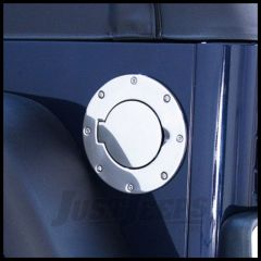 Rugged Ridge Stainless Steel Gas Hatch Cover 1997-06 TJ Wrangler, Rubicon and Unlimited 11134.01
