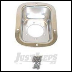 Rugged Ridge Fuel Filler Protector Stainless steel For 1978-95 Jeep Wrangler YJ and CJ 11135.01