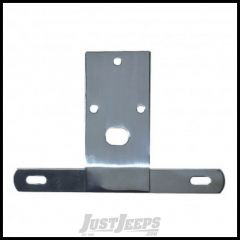 Rugged Ridge License Plate Bracket Stainless Steel For 1976-86 CJ Series 11136.01