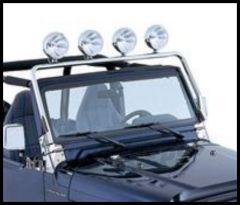 Rugged Ridge Full Frame Light Bar Stainless For 1997-06 TJ Wrangler, Rubicon and Unlimited 11138.01