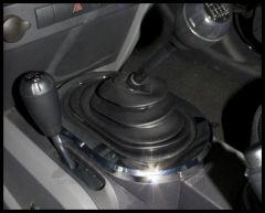Rugged Ridge Manual Shift Bezel in Chrome 2007-10 JK Wrangler, Rubicon and Unlimited 11156.01