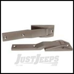 Rugged Ridge Tailgate Hinges Satin For 1997-03 TJ Wrangler, Rubicon and Unlimited 11185.59