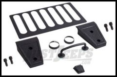 Rugged Ridge Hood Kit in Textured Black 2007-11 JK Wrangler, Rubicon and Unlimited 11201.04