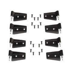 Rugged Ridge 8 Piece Door Hinge Kit For 2007-18 Jeep Wrangler JK Unlimited 4 Door Models 11202.32