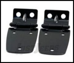 Rugged Ridge Hood Hinges Set Black For 1997-06 TJ Wrangler, Rubicon and Unlimited 11205.02