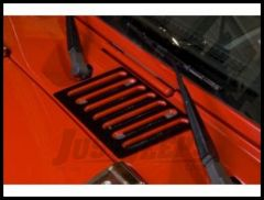 Rugged Ridge Hood Vent Cover in Black 2007-11 JK Wrangler, Rubicon and Unlimited 11206.05