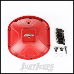 Alloy USA Dana 30 High Strength Cast Aluminum Red Differential Cover 11210