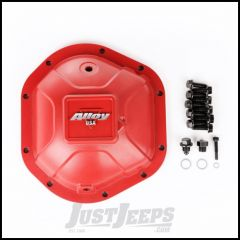Alloy USA Dana 44 High Strength Cast Aluminum Red Differential Cover 11212