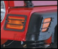 Rugged Ridge Euro Light Turn Signal/Side Marker Covers For 1997-06 TJ Wrangler, Rubicon and Unlimited 11231.01