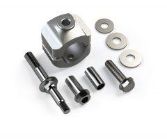 """TeraFlex Steering Stabilizer Relocation Kit For 1-5/8"""" Tie Rod For 2007-18 Jeep Wrangler JK 2 Door & Unlimited 4 Door Models 1123160"""